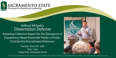 Jeffrey Mrizek's Dissertation Defense (1)