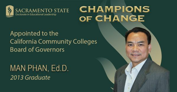 Governor appoints EdD Alumnus to Community College Board of Governors