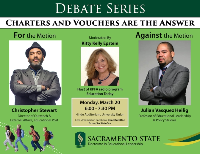 Debate Series: Charters and Vouchers