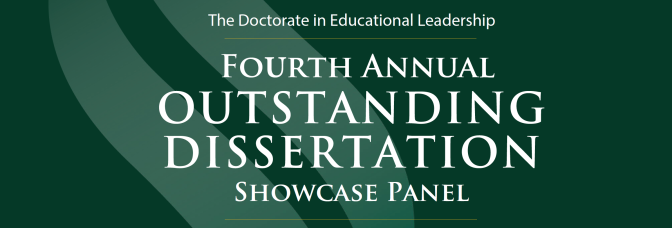 Outstanding dissertations showcased April 7