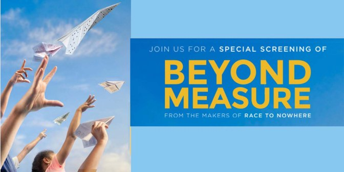 Special screening of Beyond Measure for Sacramento educators April 20