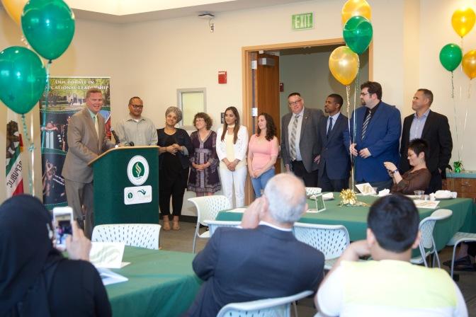 Celebrating 2017 Doctoral Graduates