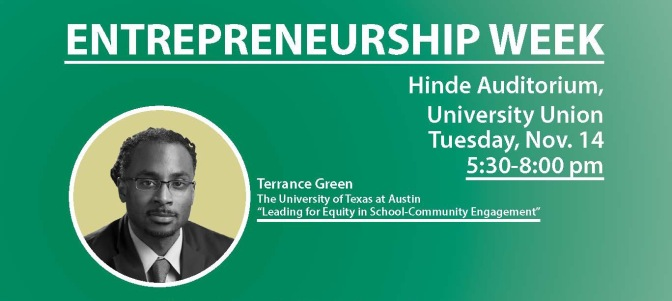 Terrance Green pairs equity with innovation in E-week events