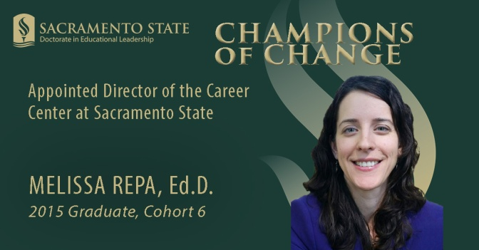Alumna Melissa Repa named Career Center director