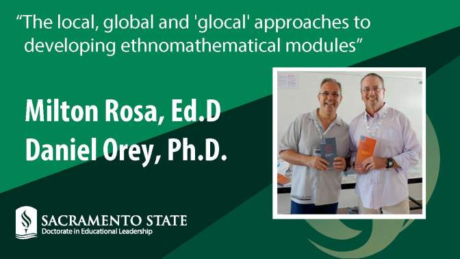 Visit of former Sac State professors offers ethnomathematics perspective on teacher prep